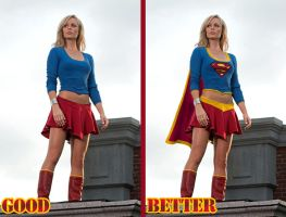 Smallville Supergirl Redesign by topher208