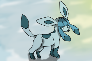 Glaceon for Silvaglace by BudCharles