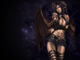 Succubus Wallpaper by Spite-nike