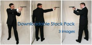 Bond: Pointing Gun DL Pack by Della-Stock