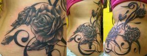 Roses and Filigree by Dripe