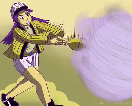 Casey's homerun by charlot-sweetie