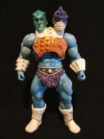 MOTUC custom Two Bad WIP by masterenglish