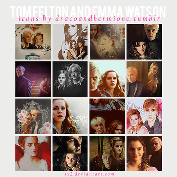 Mostly Dramione Icons by Sx2