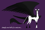 REQUEST - Simply One Hell Of A...Unicorn? by BambisParanoia