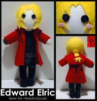 Edward Elric -commission- by AlchemyOtaku17