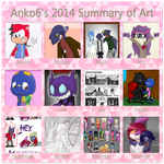 2014 Art Summary by Anko6