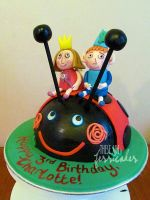 Ben and Holly's Little Birthday Cake by thesearejessicakes
