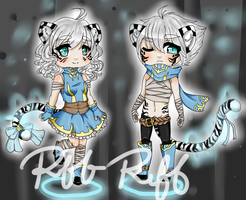 White Tiger Twins (CLOSED) by TheRiffonAssassin