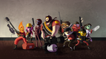 Adventure Time Cosplays Team Fortress 2 by CelestialDarkMatter