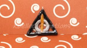 Deathly Hallows Symbol Version 1 by KBelleC