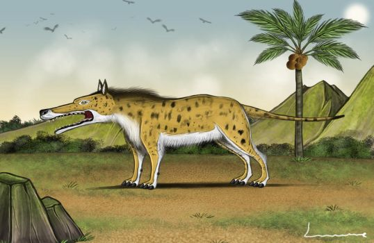 Andrewsarchus by Louisetheanimator