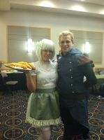 Anime Blast Chattanooga 2012 - Amon(Me) with Maid by BlueEyesMaster