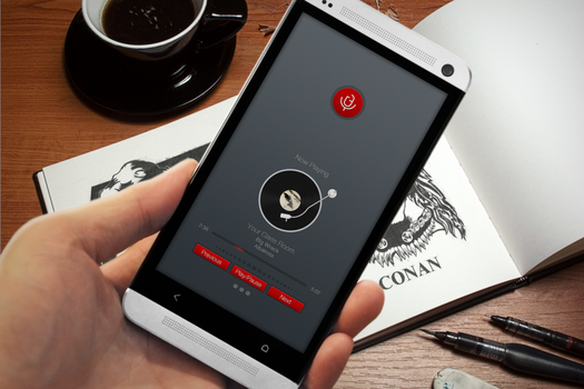 Slide Up Music Player by Bashbrother