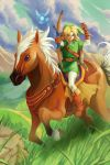 Link and Epona by manreeree