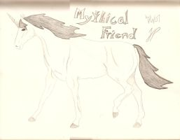 Mythical Friend by NotoriousBunny