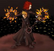 KH2 -- Bond of Flame by lady-obsessed