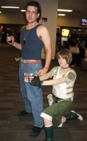 Billy Coen and Rebecca Chambers by straywind