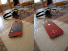 iPhone 4 - Red Edition by PZ-Art