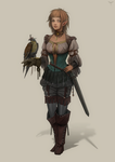 Falconer by telthona