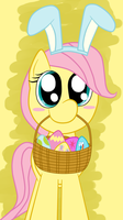 Filly Eastershy by cradet
