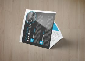 Multi Use Business Square Trifold Bundle by Designhub719