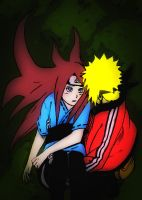 Kushina And Minato by Rochi-chan