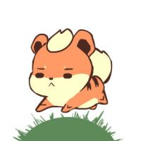 Growlithe chibi by mg9990