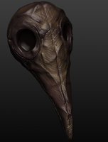 Leather Plague Mask by Alevice