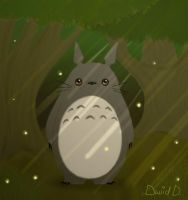 Hey There, Totoro. by BioMechMoose