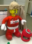 large Lego race car driver by carrieh9778