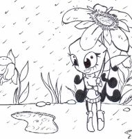 rainy day by Bellaceline122