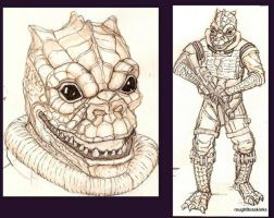 Ink Rough Bossk by tarpalsfan