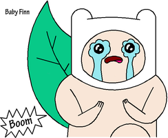 Finn, the Boom Boom Baby by TheArcticDemon
