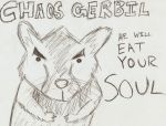 Chaos Gerbil by martypunker