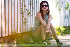 Skater Karoline by 904PhotoPhactory