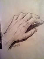 My hand by Sheym