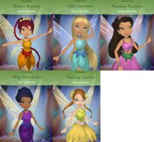 Katie's Fairies. by GothicKitta