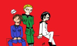 Axis Powers by Agent-Eli