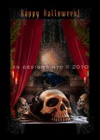 The Ravens Den Card by xgnyc