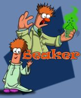 Beaker: Now and Then by animated-shark