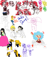 Doodle Dump by SpaceyJessi