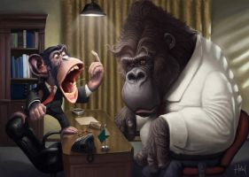 the boss is pissed by Tiago Hoisel (8) by nebex