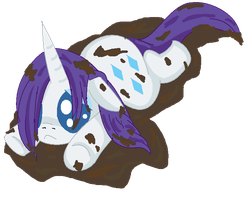 Chibi Rarity by Blood-Charm