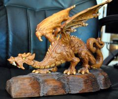 My Dragon {Front 3/4 view by Arkinman