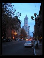 Smith Tower by Choucism