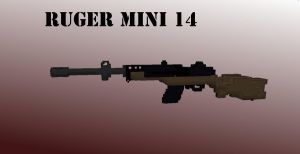 Ruger mini 14 by BlueMoon63