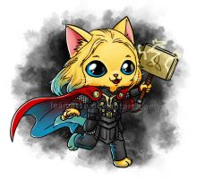 Thor-cat by leamatte