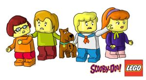 Lego Scooby-Doo by superjade74
