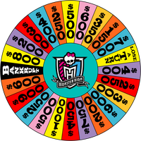 Monster High - Wheel of Fortune - Round 1 by Dorothy64116